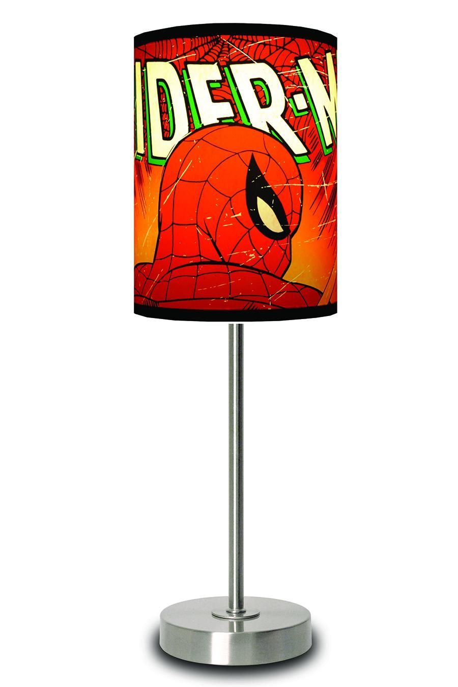 Delightful Marvel Comics Spider Man Lamp.