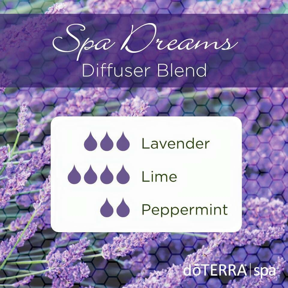 Spa Dreams Blend Essential Oils Aromatherapy Essential Oil Mixes Best Essential Oils