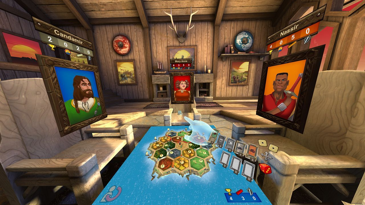 Classic tabletop board game Catan VR releases to Steam