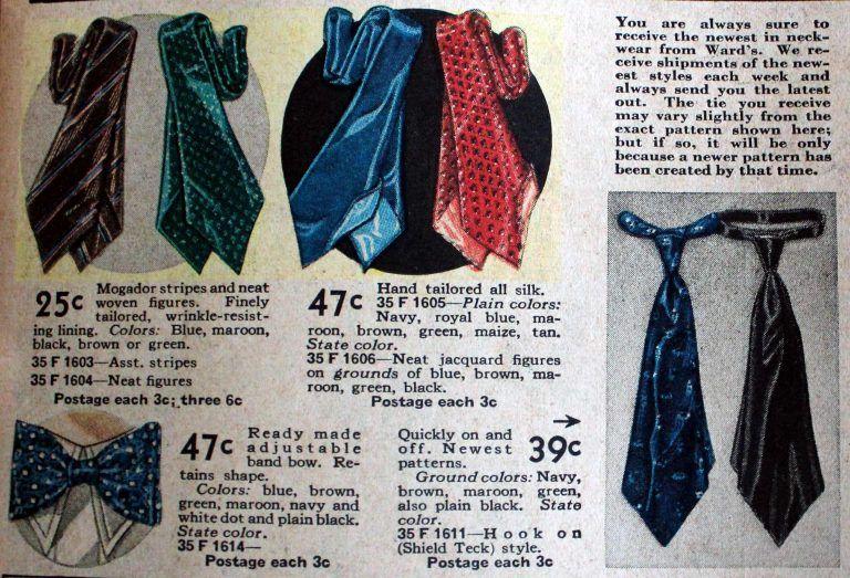 Men S Ties History Of The 1920s To 1970s Ties Mens Fashion Ties Mens 1920s Mens Fashion