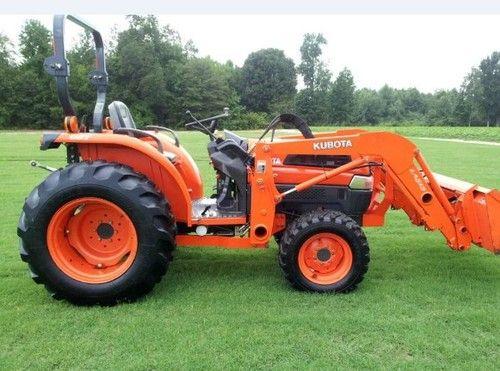 Kubota Tractor Repairs : Click on image to download kubota l