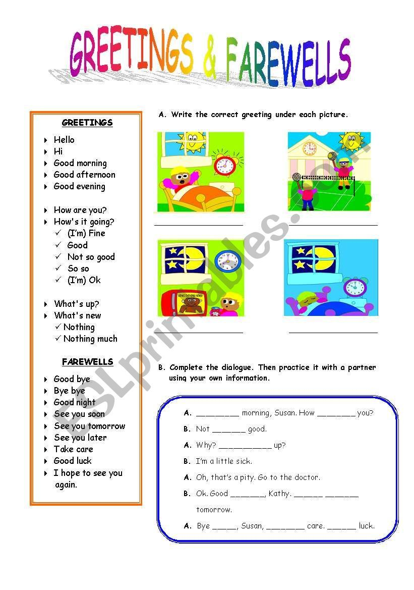 A USEFUL AND SIMPLE WORKSHEET TO TEACH YOUR STUDENTS THE