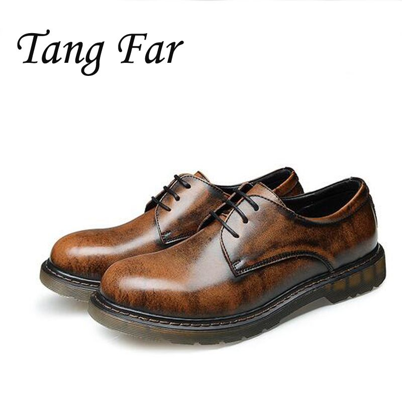>> Click to Buy << Men Genuine Leather Casual Shoes Vintage Flats Mens High Quality Tooling Shoes Man Safety Shoes Boat Hombre #Affiliate