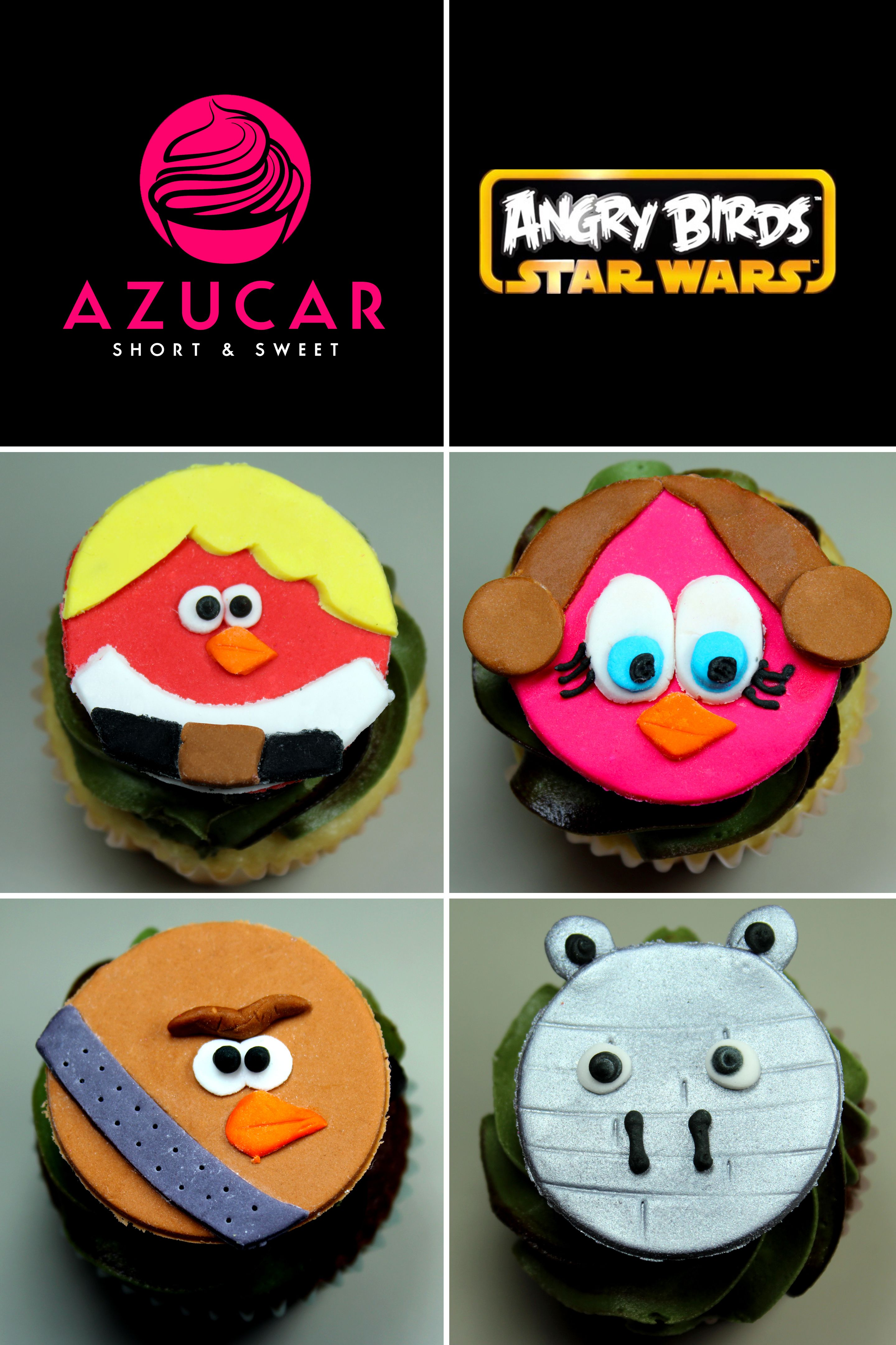 Angry Birds Star Wars Cupcakes Gotazucar