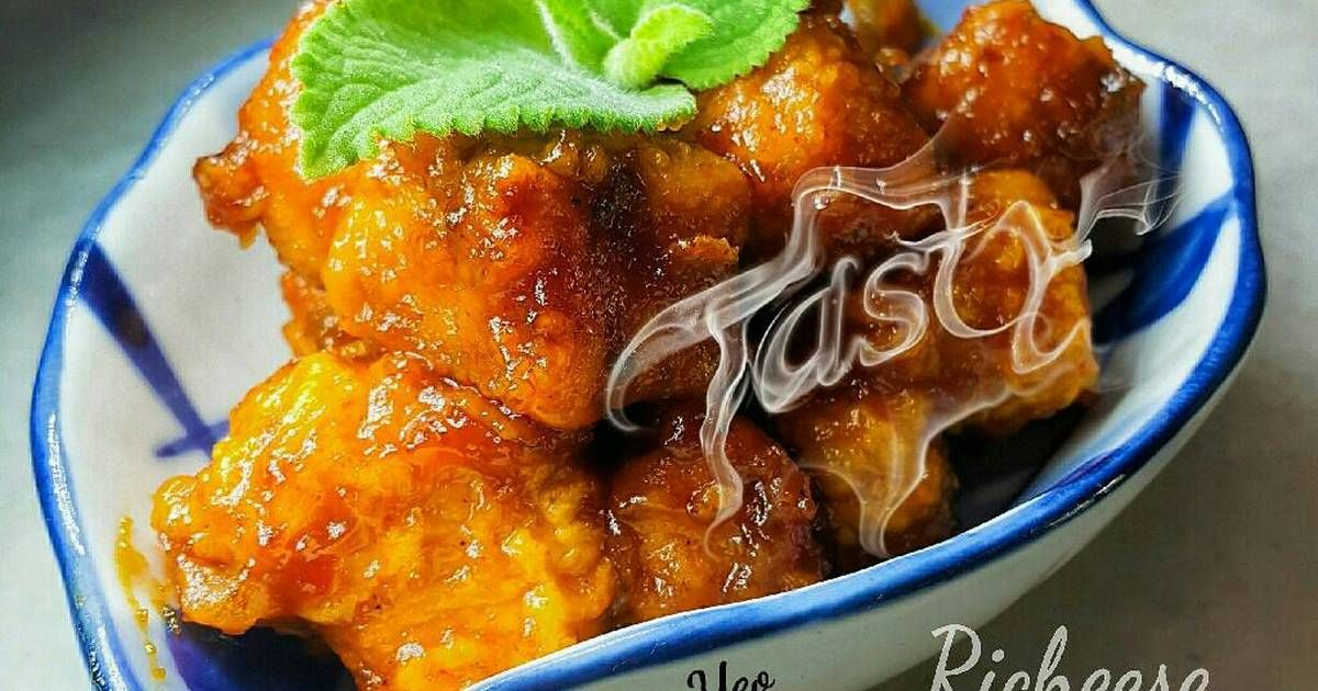 Resep Richeese Fire Chicken Abal2 Oleh Vinay89 Resep Makanan Makanan Dan Minuman Resep Ayam