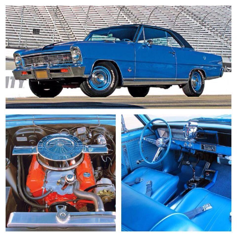 1965 chevy ii nova ss favorite cars american muscle pinterest - American Muscle Cars 1966 Chevrolet Nova Chevy Ii 2 Door Sedan 327 Cid V8 350 Hp L79