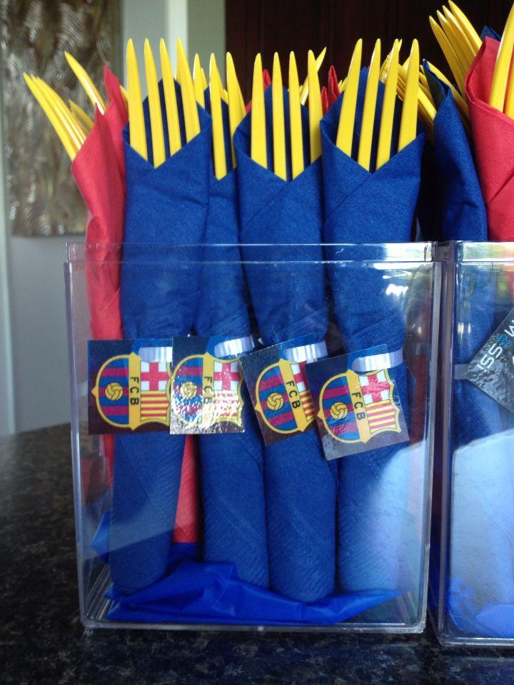 Best 25 Barcelona Soccer Party Ideas On Pinterest
