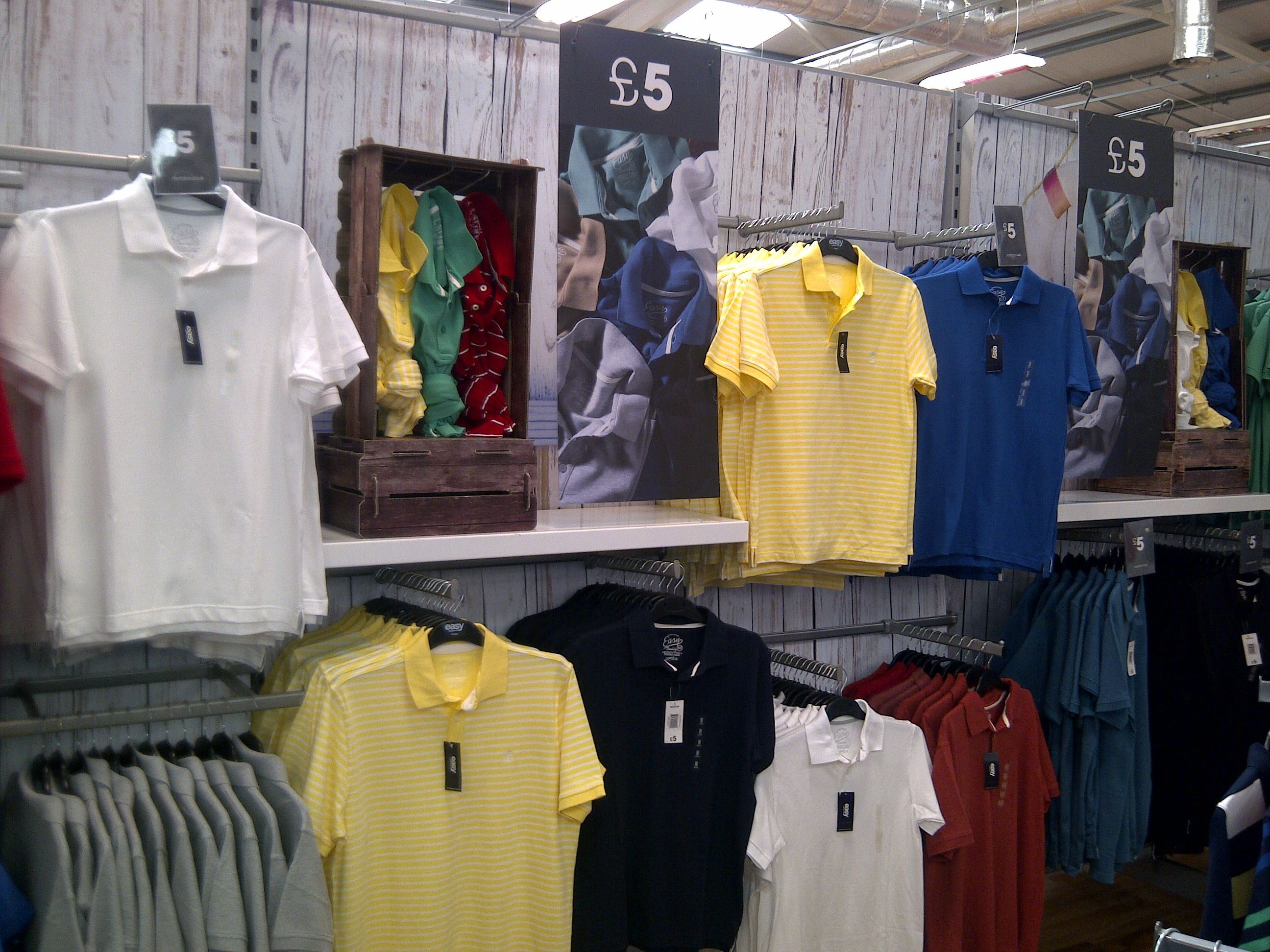 new concept 35ee5 93bcd Polo Shirt Display - As part of the table strategy I moved ...