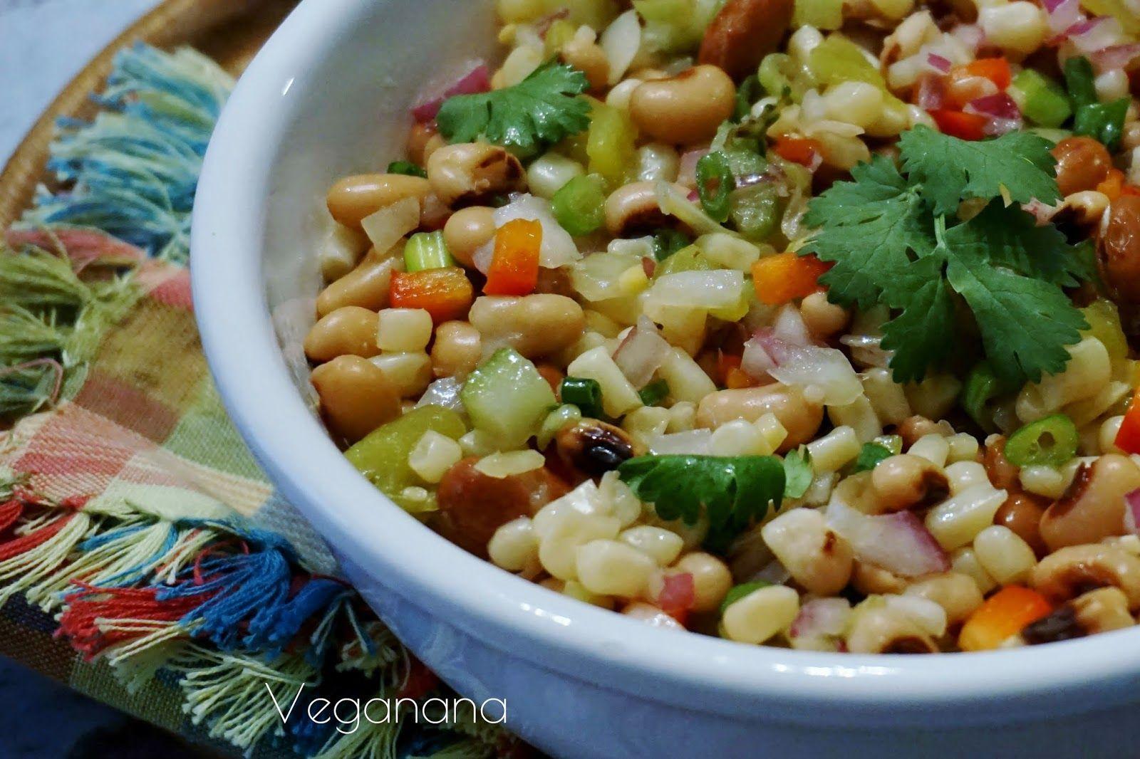 Salada de Grãos - Veganana