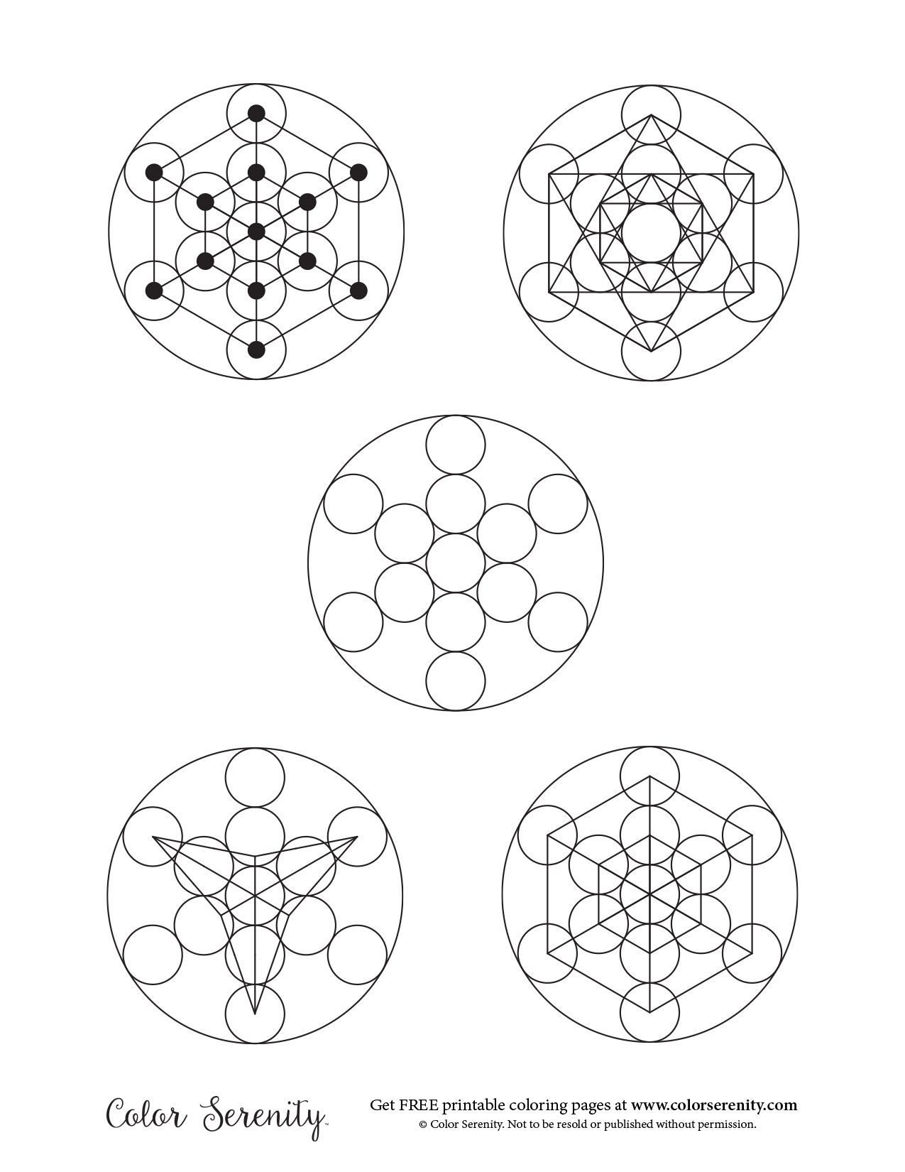 Pin By Color Serenity On Free Coloring Pages