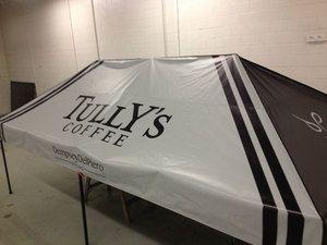 Gallery Custom Awnings Custom Graphics Tent