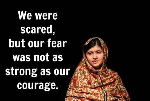 12 Powerful And Inspiring Quotes From Malala Yousafzai Poeme Et