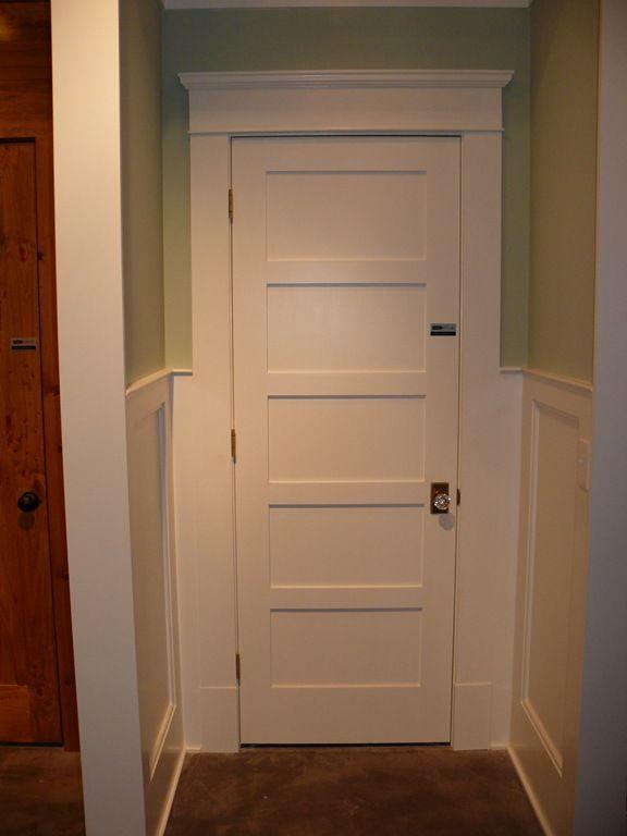 5 Panel Door I Want To Replace My Old Doors For These Doors Interior Replacing Interior Doors Shaker Interior Doors