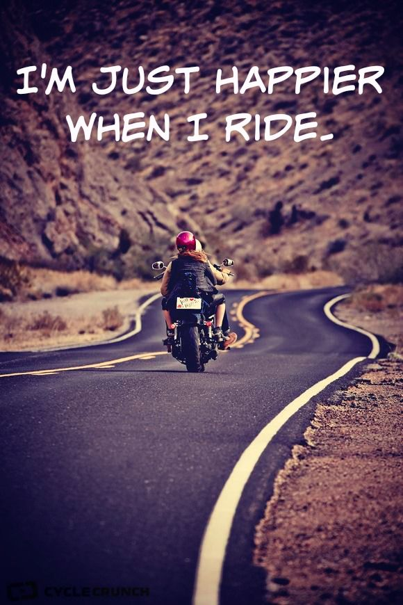 Why Do You Ride Cyclecrunch Biker Quotes Bike Quotes Biker