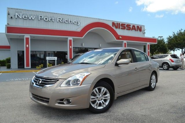 Certified Pre Owned 2012 Nissan Altima 2.5 S In Gold   New Port Richey  Nissan, Florida