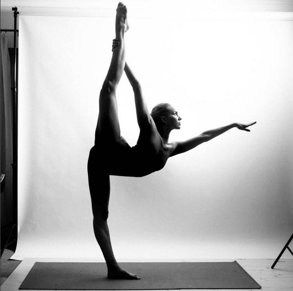 Nude Yoga Girl - Jej Zdjcia Podbijaj Instagram, Fot -3928
