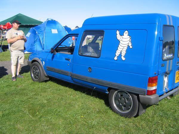 info wanted on a blue modified c15 van - The Citroen Visa ...