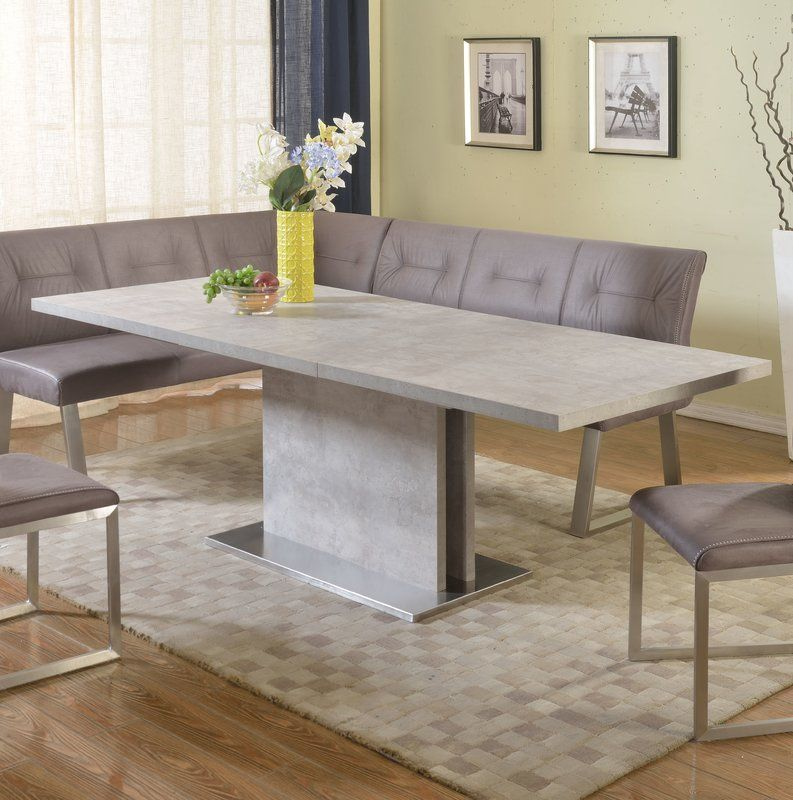 Kalinda Extendable Dining Table With Images Dining Table