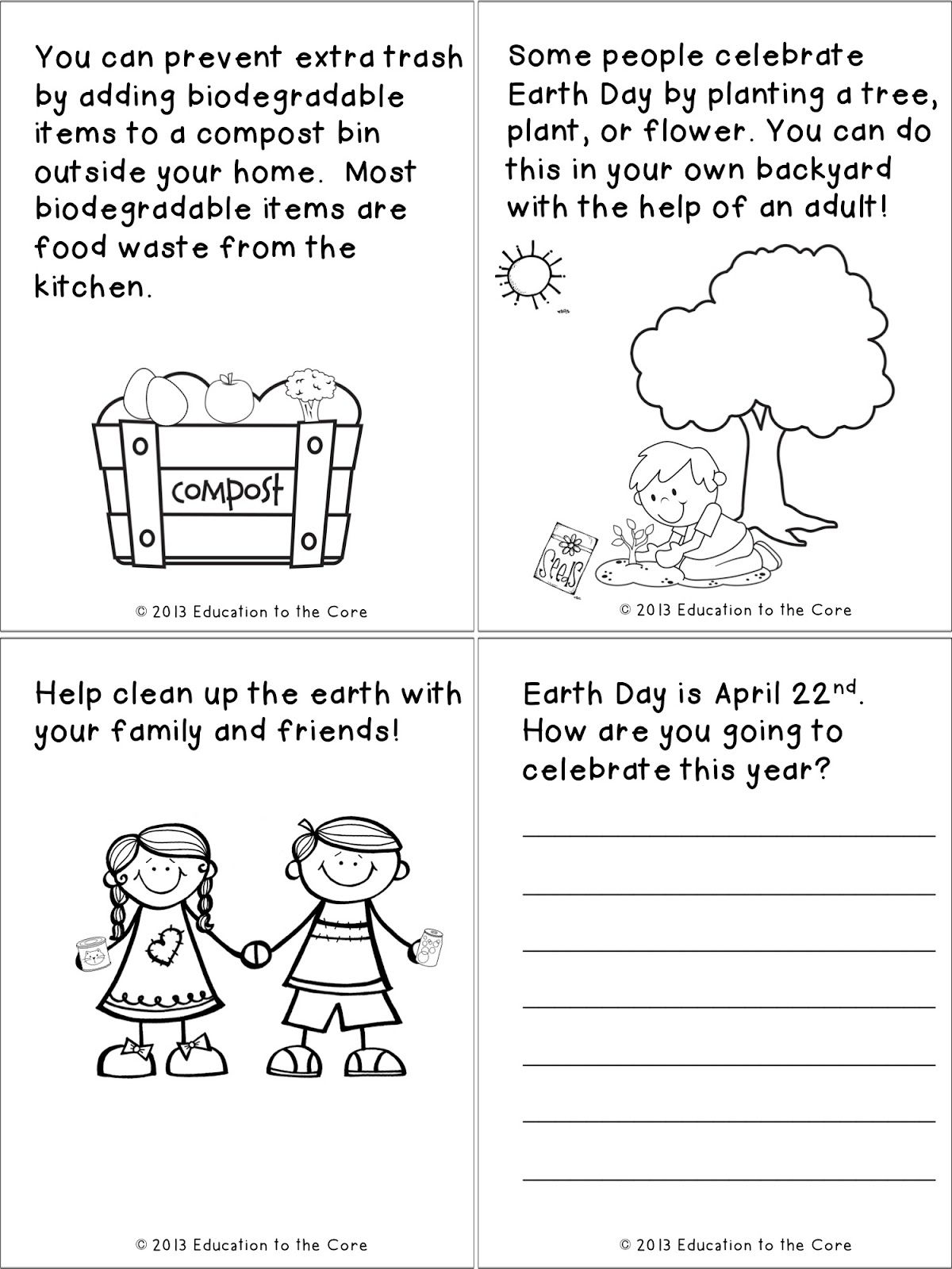 Spring Printables And A Special Freebie