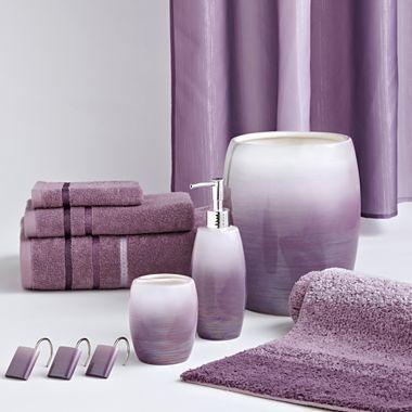 Jcp Home Iliana Bath Accessories Jcpenney Purple Bathroom Decor Lavender Bathroom Decor Purple Bathroom Accessories