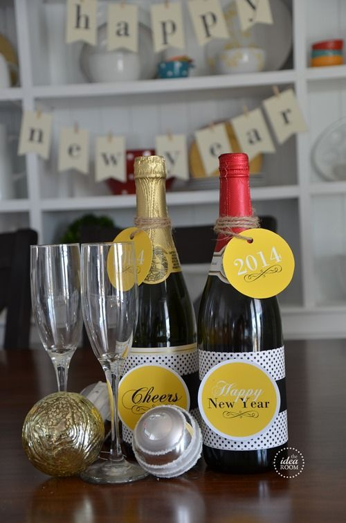 New Year's Eve Printables | Christmas wedding favors, New ...