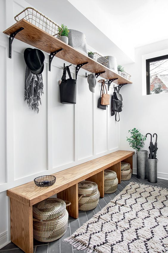 Photo of 50 DIY Mudroom Ideas » Lady Decluttered
