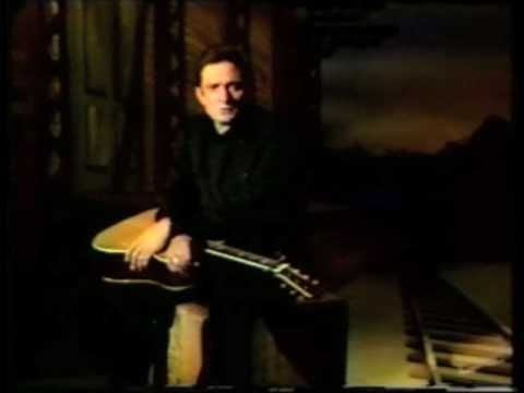 """JOHNNY CASH sings """"This Land Is Your Land"""""""
