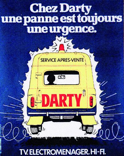 1975 - publicité Darty