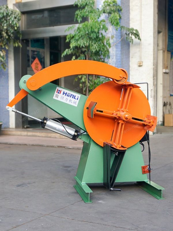 Automatic Motorized Uncoiler Machine with Customized Shaft