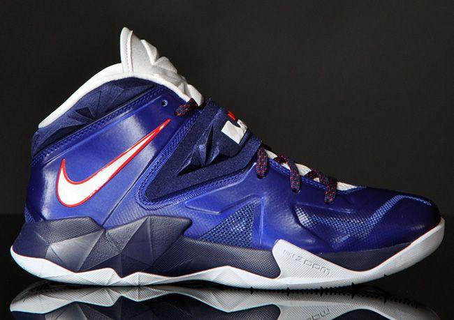 "san francisco 8f9c4 54f22 Nike Zoom Soldier 7 ""Deep Royal Blue"""