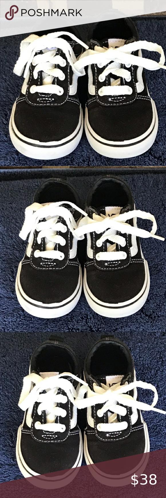 Vans Infant Toddler Skate Shoes Size 7