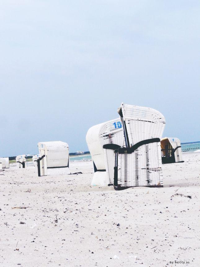 strandkörbe , ostsee