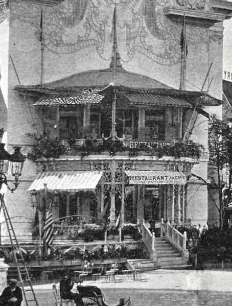 Palais De La Femme Le Restaurant Intérieur 1900