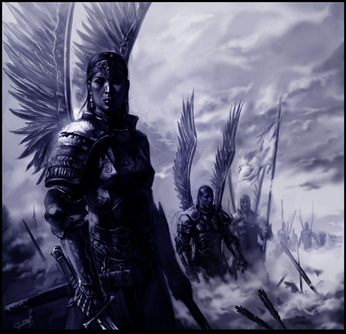 Imagens De Anjos Guerreiros 6