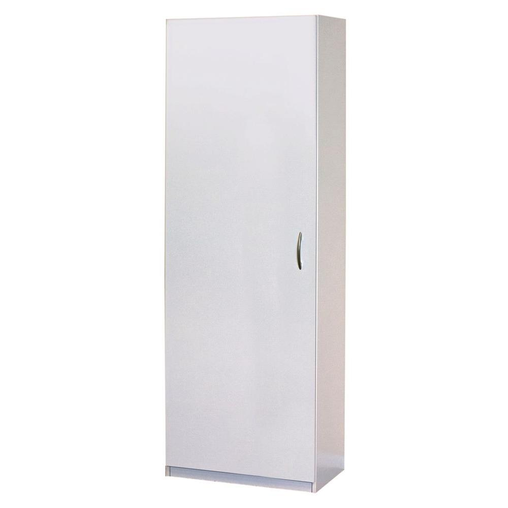 Closetmaid 15 25 In D X 24 In W X 71 75 In H Laminate Storage Cabinet Closet System In White 12281 The Home Depot In 2020