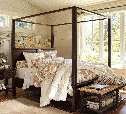country chic Mi Casa Pinterest Canopy, Country chic and Bedrooms