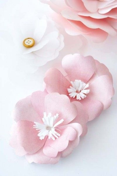 7 pretty diy paper flowers and tutorials pinterest diy paper 7 pretty diy paper flowers and easy tutorials diy crafts mightylinksfo