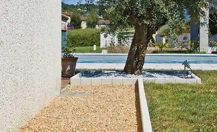 Realiser Un Chemin Gravillonne Sur Dalles Alveolees Decoration Jardin Terrasse Amenagement Jardin Jardin Terasse
