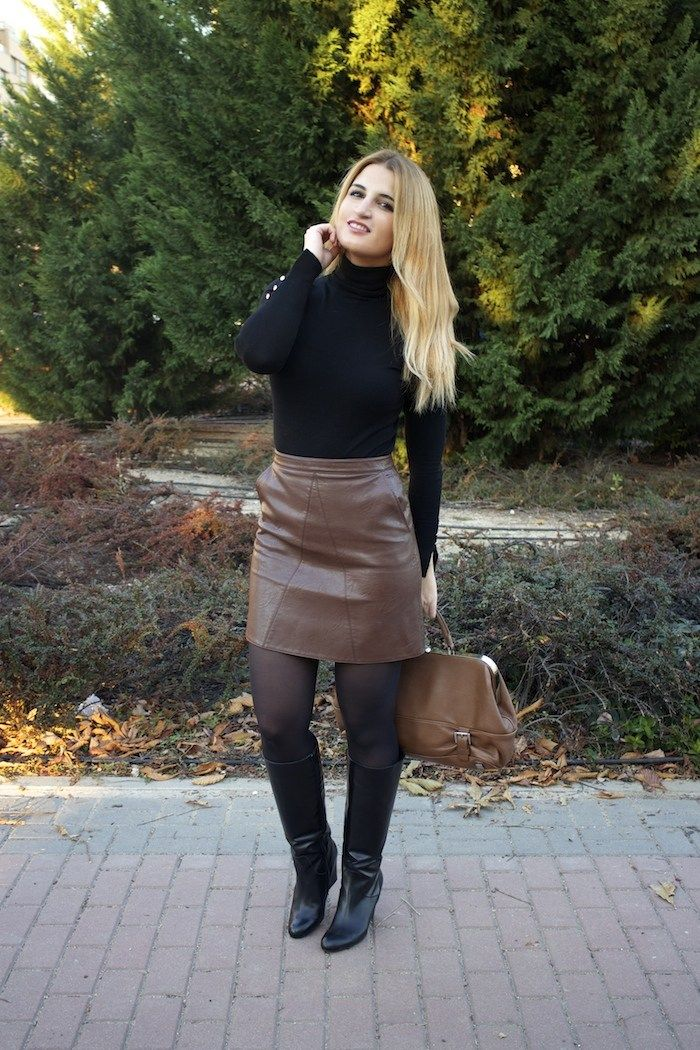 Dress Boots and Tights