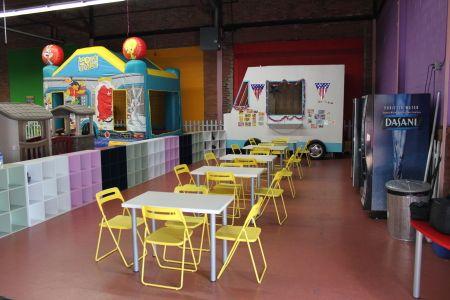 Love The Ice Cream Van Cafe Counter Indoor Playground Watertown