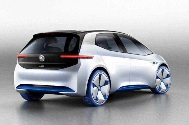 Elektroauto Volkswagen Id Soll Bis Zu 600 Km Elektrisch Fahren Golem De Elektrisches Auto Volkswagen Kleinwagen