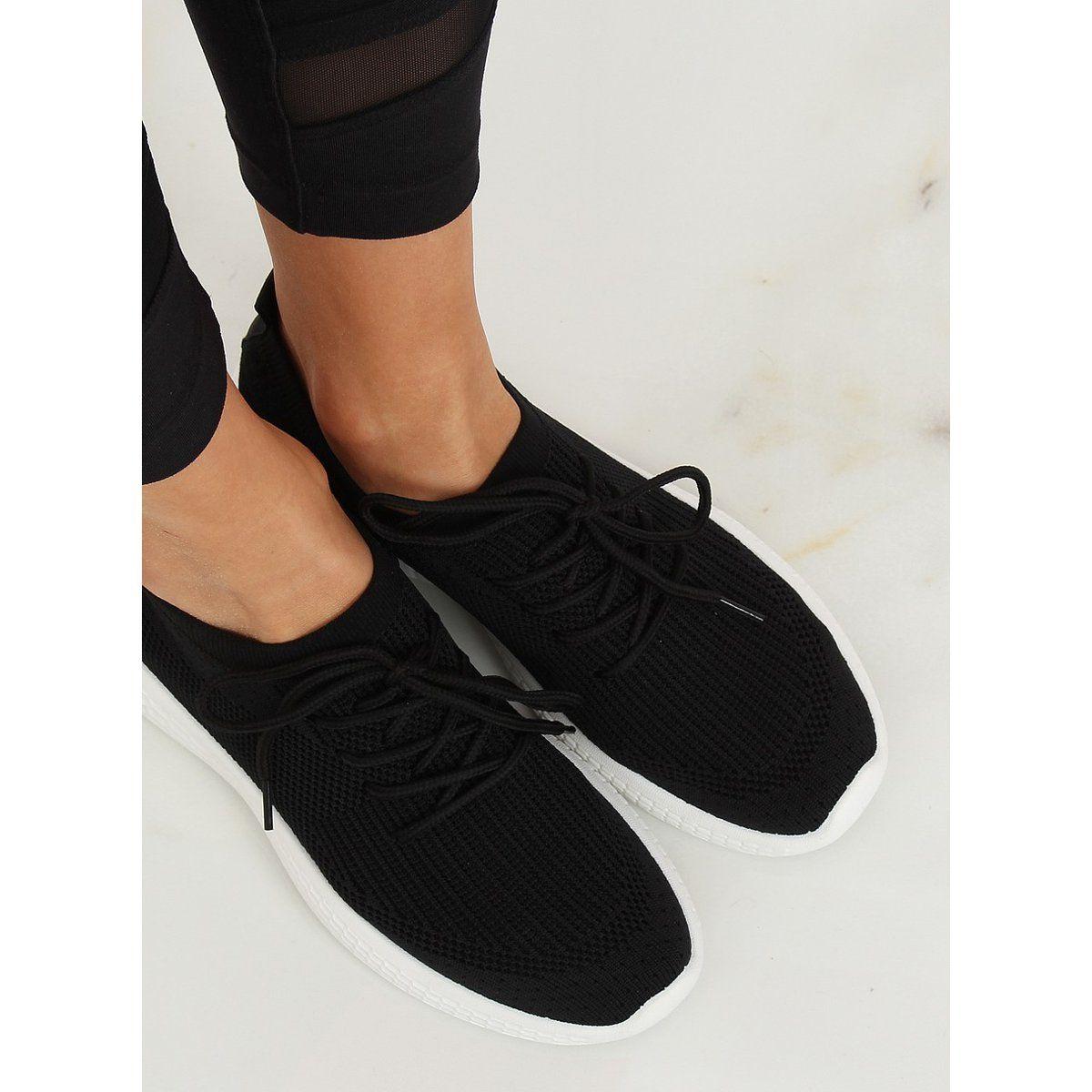 Buty Sportowe Czarne X 9755 Black Sport Shoes Black Sports Shoes Shoes