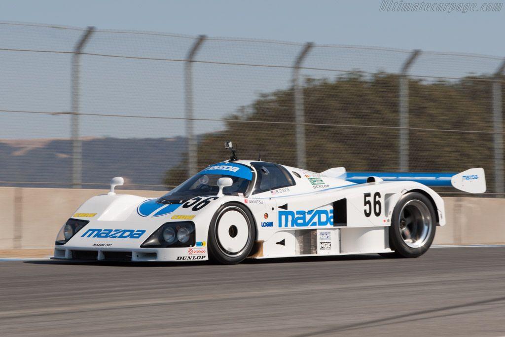 Mazda 787 (Chassis 787 - 002 - 2012 Monterey Motorsports Reunion) High Resolution Image