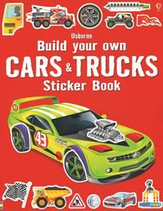 show details for build your own cars trucks sticker book