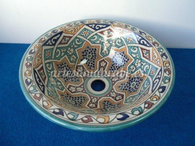 lavabos arabes de marruecos | Artesanía árabe y decoración marroquí