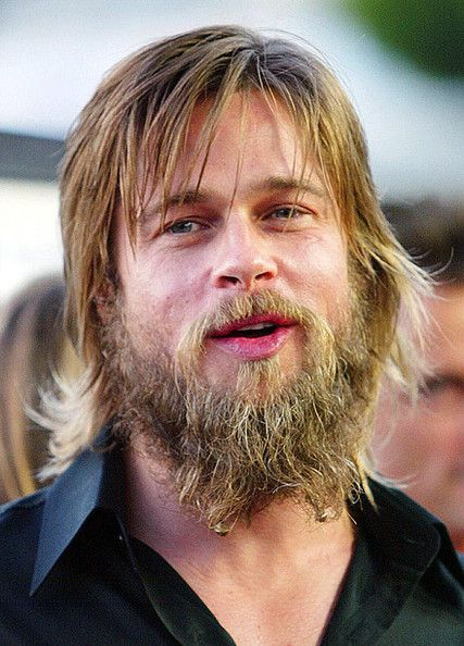 Brad Pitt Brad Pitt Beard Bad Beards Brad Pitt