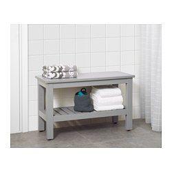 Meubles et accessoires en 2019 | salle de bain | Banc salle de bain ...