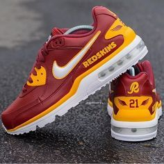 designer fashion 68bdc 07036 nike air max redskins shoes