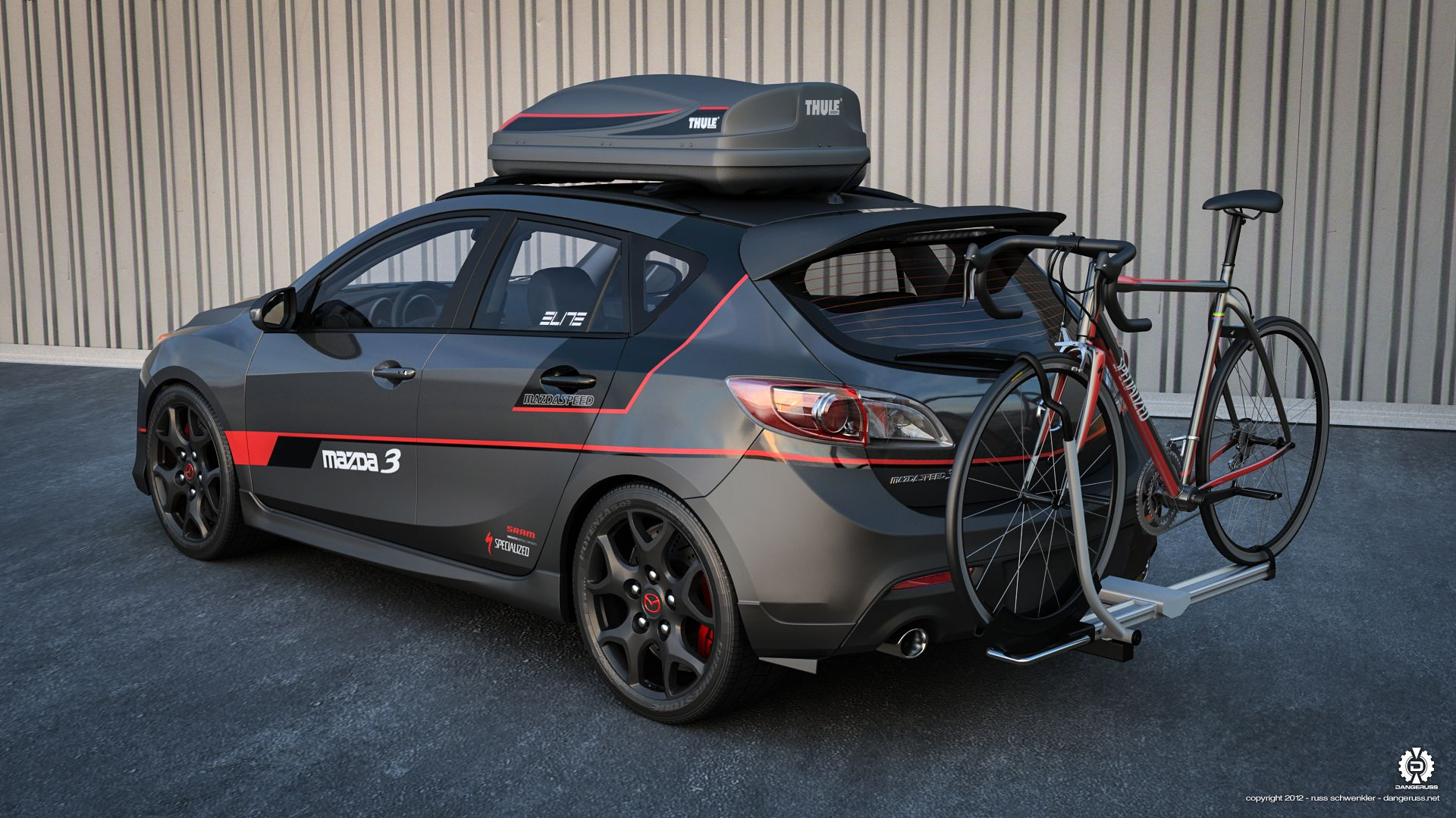 Mazdaspeed 3 Ready For The Unexpected Driven Mazda Cars Mazda