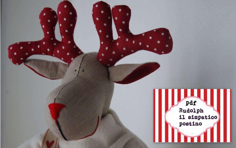 Christmas reindeers pattern pdf sewing pattern for a reindeer christmas reindeers pattern pdf sewing pattern for a reindeer postman festive nordicchristmas patterns jeuxipadfo Choice Image